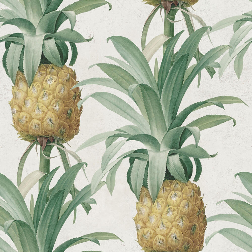 Ananas Mural - Green - by Mind the Gap