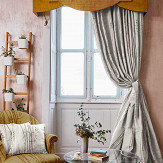 The Chateau by Angel Strawbridge The Chateau Oriental Garden Bamboo Curtains Natural Ready Made Curtains - Product code: BAM/NAT/10054TA