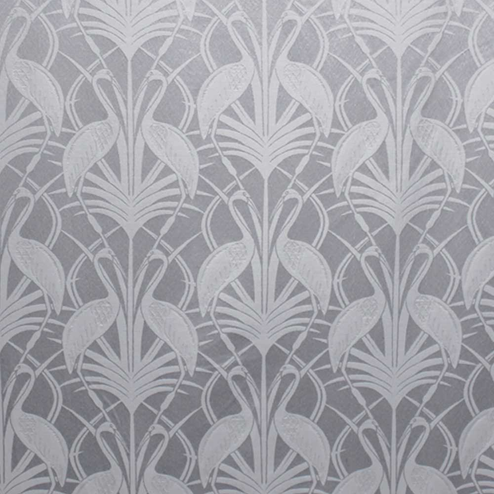 The Chateau by Angel Strawbridge The Chateau Deco Heron Curtains Grey Ready Made Curtains - Product code: DEC/GRE/10090TA