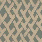Farrow & Ball Amime  Green / Gilver Wallpaper - Product code: BP 4407
