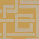 Farrow & Ball Enigma Ochre / Gilver Wallpaper - Product code: BP 5508