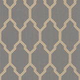 Farrow & Ball Tessella Grey / Gilver Wallpaper - Product code: BP 3611