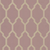 Farrow & Ball Tessella Pink / Gilver Wallpaper - Product code: BP 3612