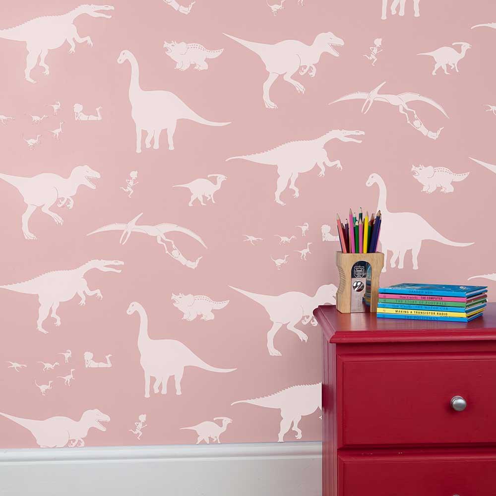 PaperBoy D'ya-think-e-saurus Confetti Wallpaper - Product code: DYTESU/WP/CON