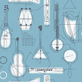 Mini Moderns Concert Chalkhill Blue Wallpaper - Product code: AZDPT039CB