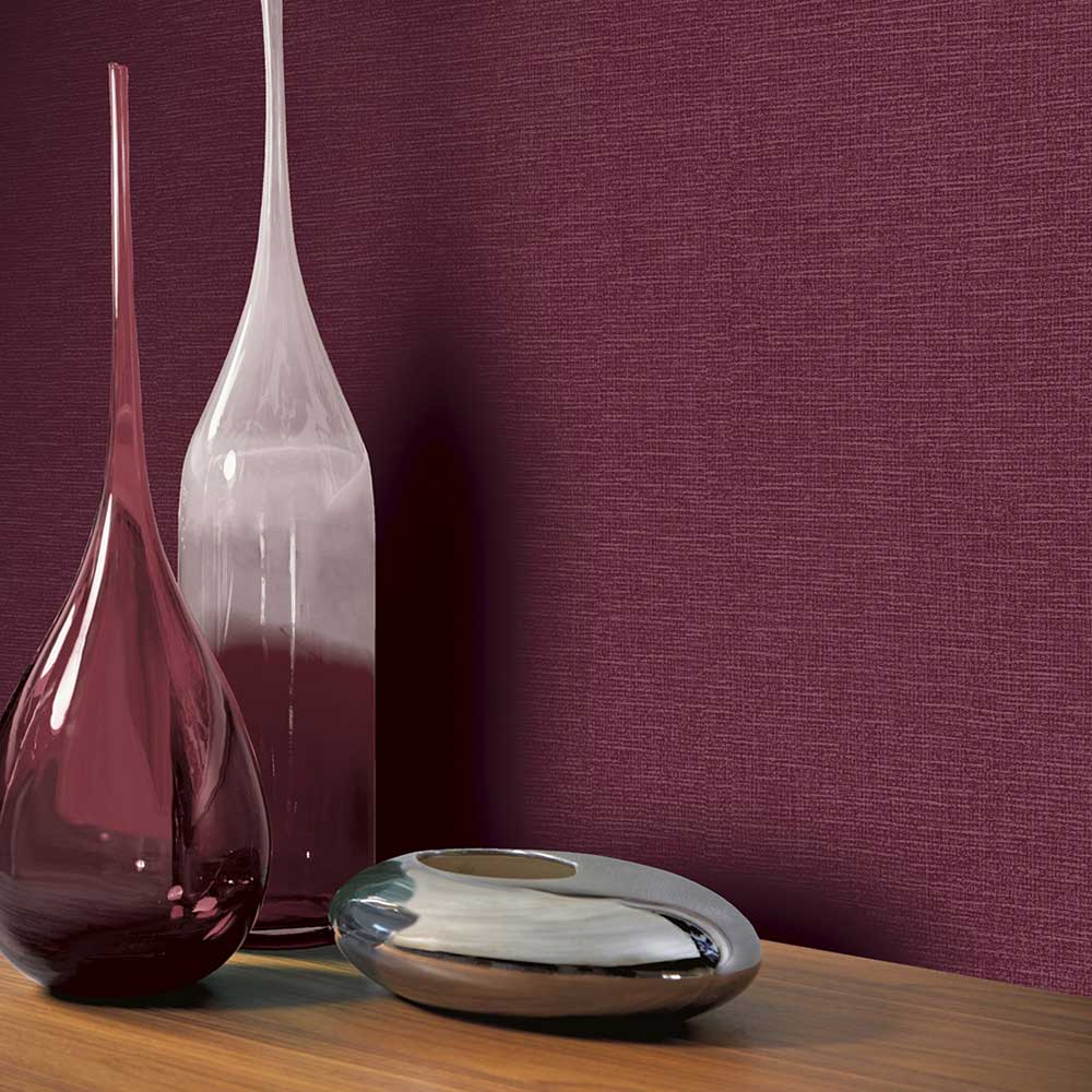 Arthouse Canvas Plum Wallpaper - Product code: 904303