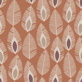 Arthouse Glam Feather Orange Wallpaper - Product code: 904501