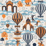 Mini Moderns Pleasure Gardens Tangerine Dream Wallpaper - Product code: AZDPT042TD