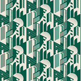 Mini Moderns Bauhaus Douglas Fir Wallpaper - Product code: AZDPT044DF