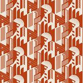 Mini Moderns Bauhaus Harvest Orange Wallpaper - Product code: AZDPT044HO