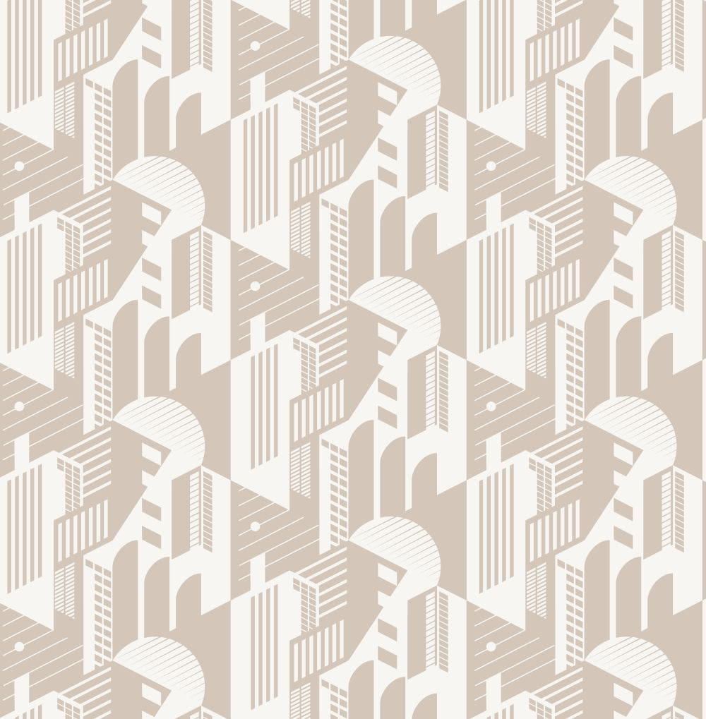 Mini Moderns Bauhaus Stone Wallpaper - Product code: AZDPT044ST
