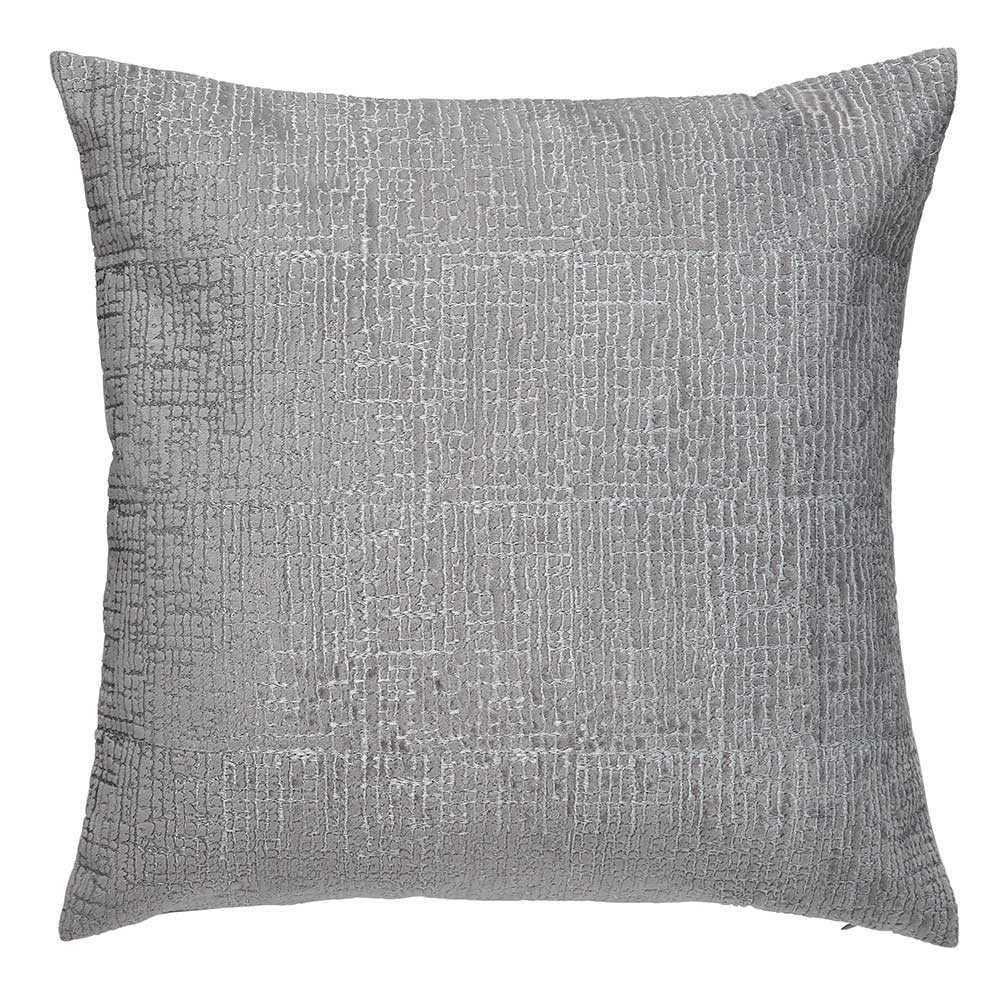 Cranes in Flight Cushion - Silver - by Harlequin
