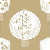 Mini Moderns Lucky Lantern Seagrass Wallpaper - Product code: AZDPT045SE