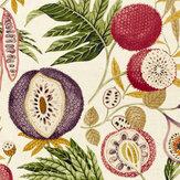 Sanderson Jackfruit Fig / Olive Fabric - Product code: 226562