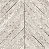 Albany ZigZag Decking Silver Grey Wallpaper - Product code: 24005