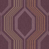 Arthouse Hexagon Plum Wallpaper - Product code: 904903