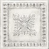 Albany Tin Tile White Wallpaper - Product code: 24031