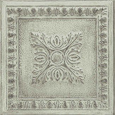 Albany Tin Tile Green Wallpaper - Product code: 24033