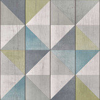 Albany Geo Wood Blue / Green Wallpaper - Product code: EP3102