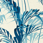Sanderson Palm House Eucalyptus Fabric - Product code: 226569