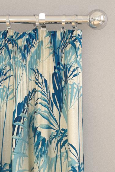 Sanderson Palm House Eucalyptus Curtains - Product code: 226569