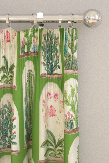 Sanderson Terrariums Botanical Green Curtains - Product code: 226570