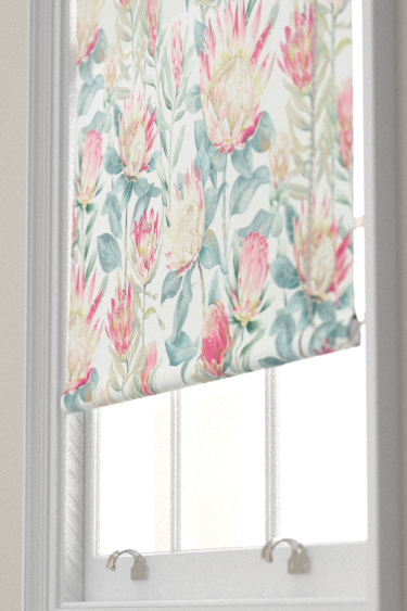 Sanderson King Protea Orchid / Grey Blind - Product code: 226574