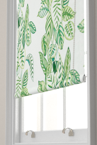 Sanderson Calathea Botanical Green Blind - Product code: 226575