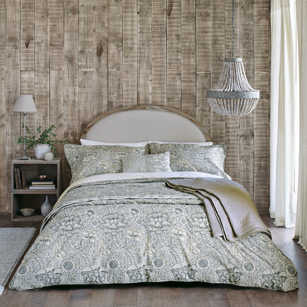 Morris Wandle Duvet  Grey Duvet Cover - Product code: DA2104005
