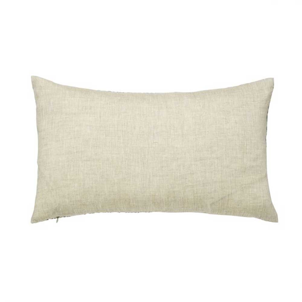 Wandle Cushion - Grey - by Morris