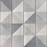 Albany Geo Wood Grey Wallpaper - Product code: EP3103