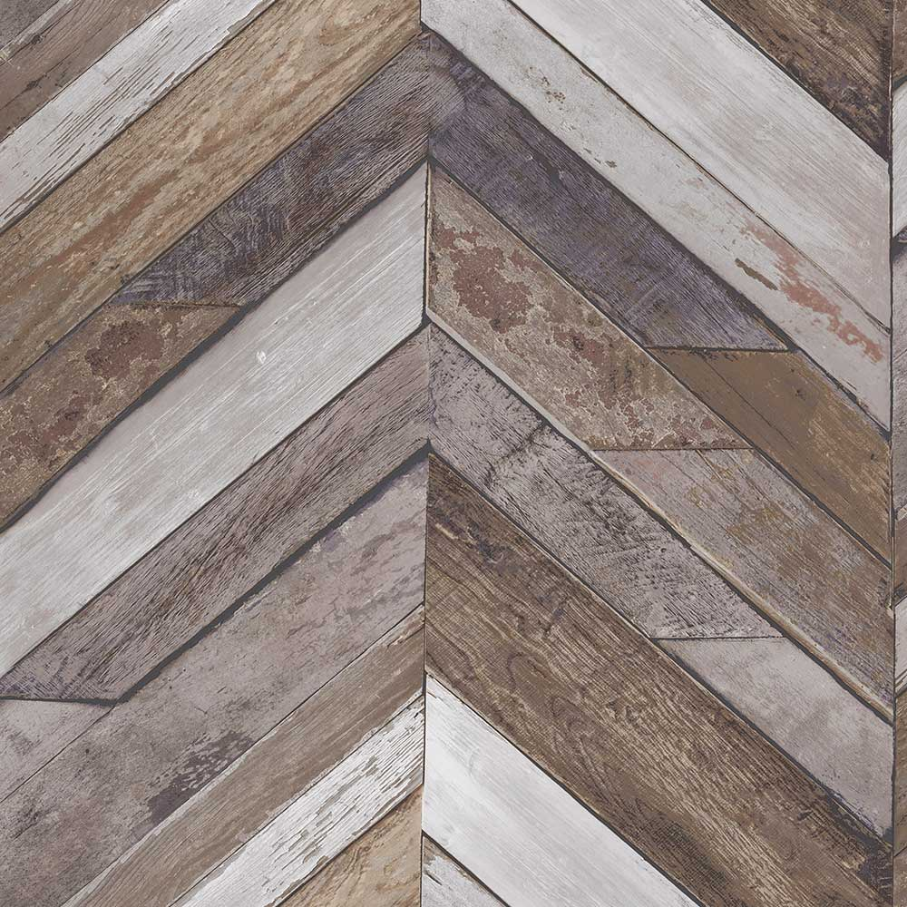 Albany Nautical Zigzag Brown Wallpaper - Product code: EP3402