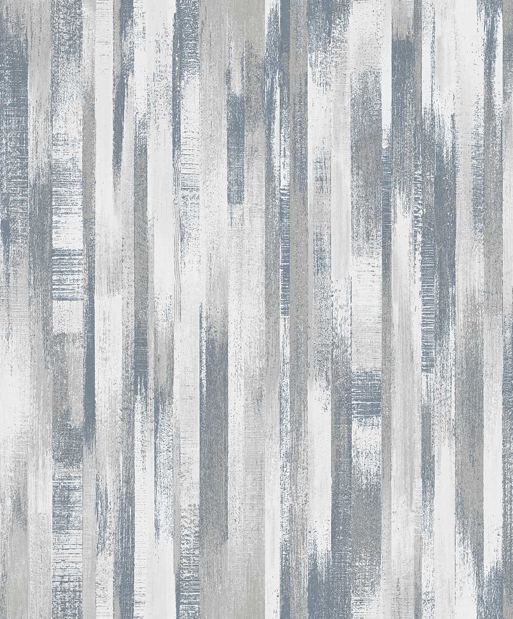 Albany Wood Stripe Blue Wallpaper - Product code: PP3203