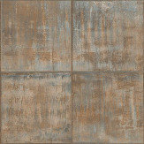 Albany Sheet Metal Copper Wallpaper - Product code: PP3401
