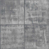 Albany Sheet Metal Grey Wallpaper - Product code: PP3402