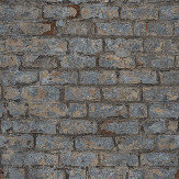 Albany Industrial Brick Dark Grey Wallpaper - Product code: PP3801