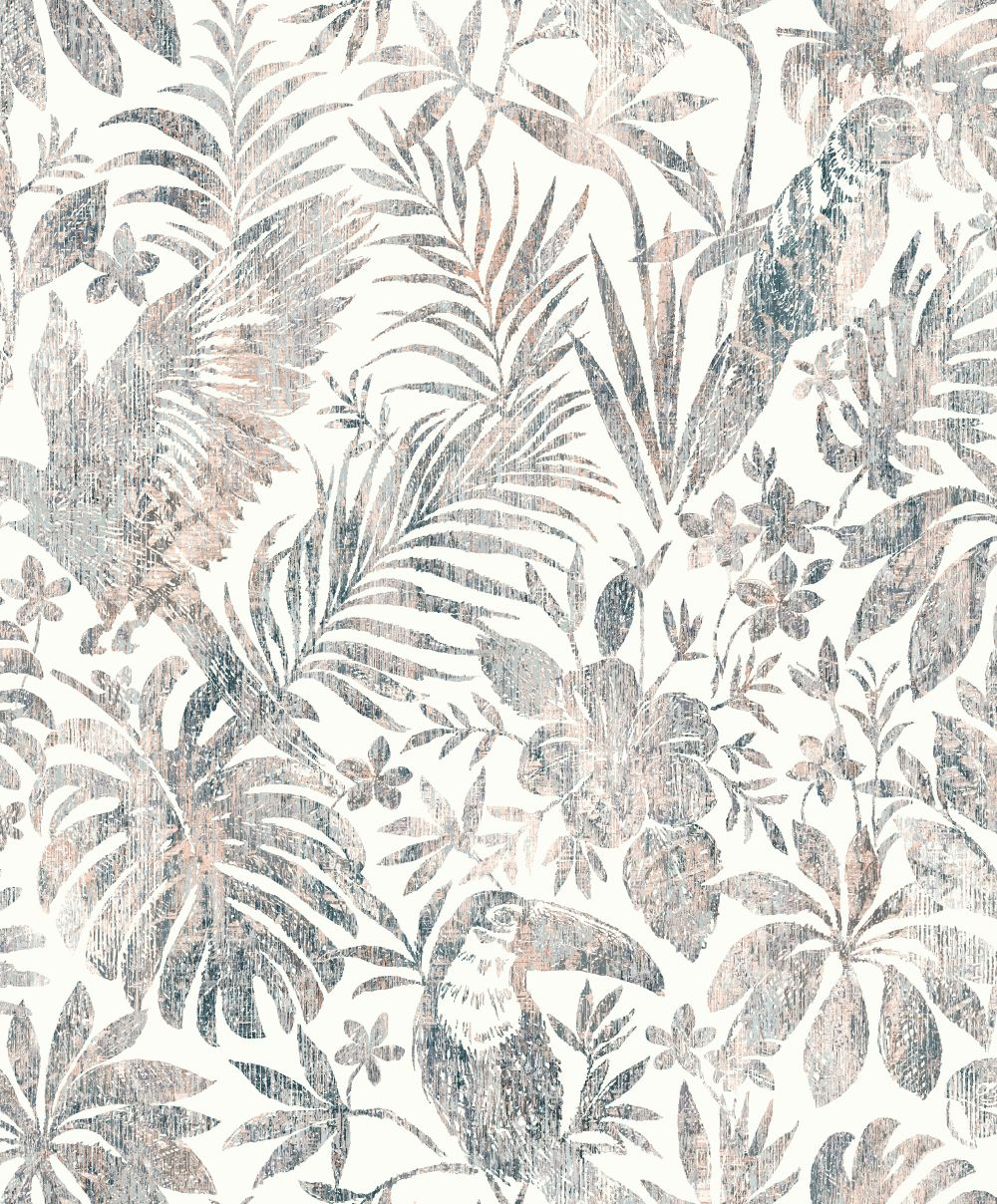 Albany Distressed Jungle Coral Wallpaper - Product code: L68508