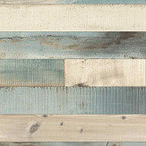 Albany Floor Boards Blue  / Grey  Wallpaper - Product code: 442120
