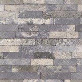 Albany Granite Brick Grey Wallpaper - Product code: 475173