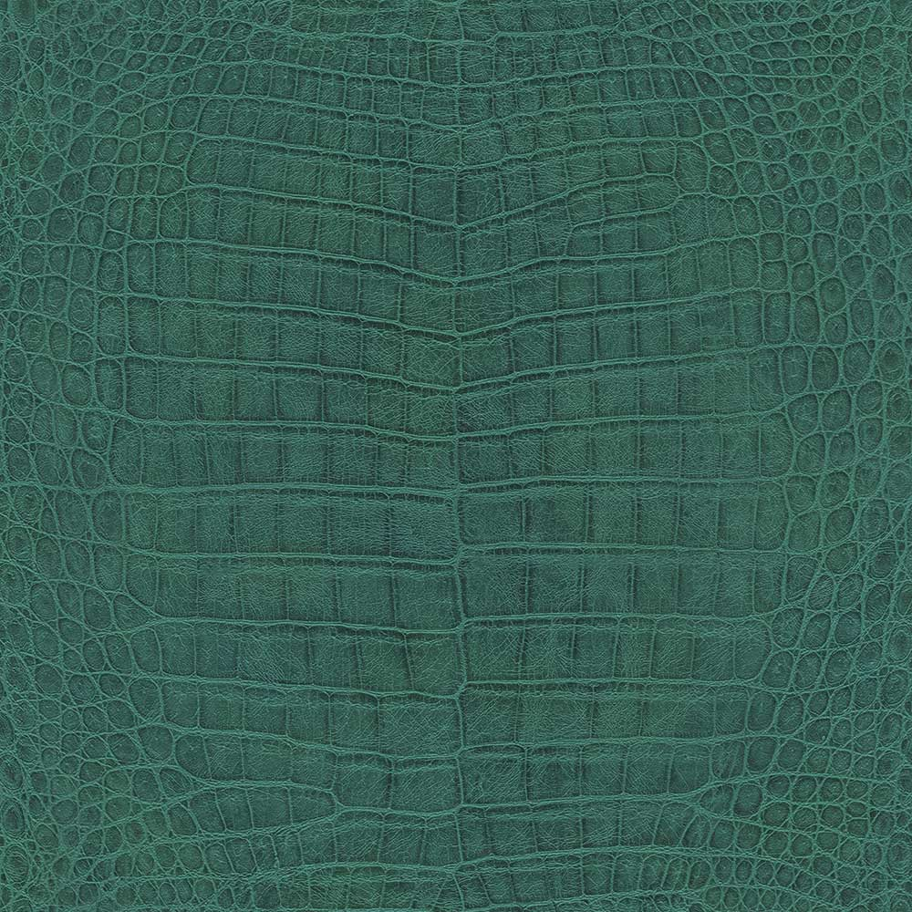 Albany Crocodile Pattern Teal Wallpaper - Product code: 528718