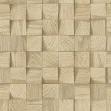 Albany Wooden Blocks Brown Wallpaper - Product code: 624823
