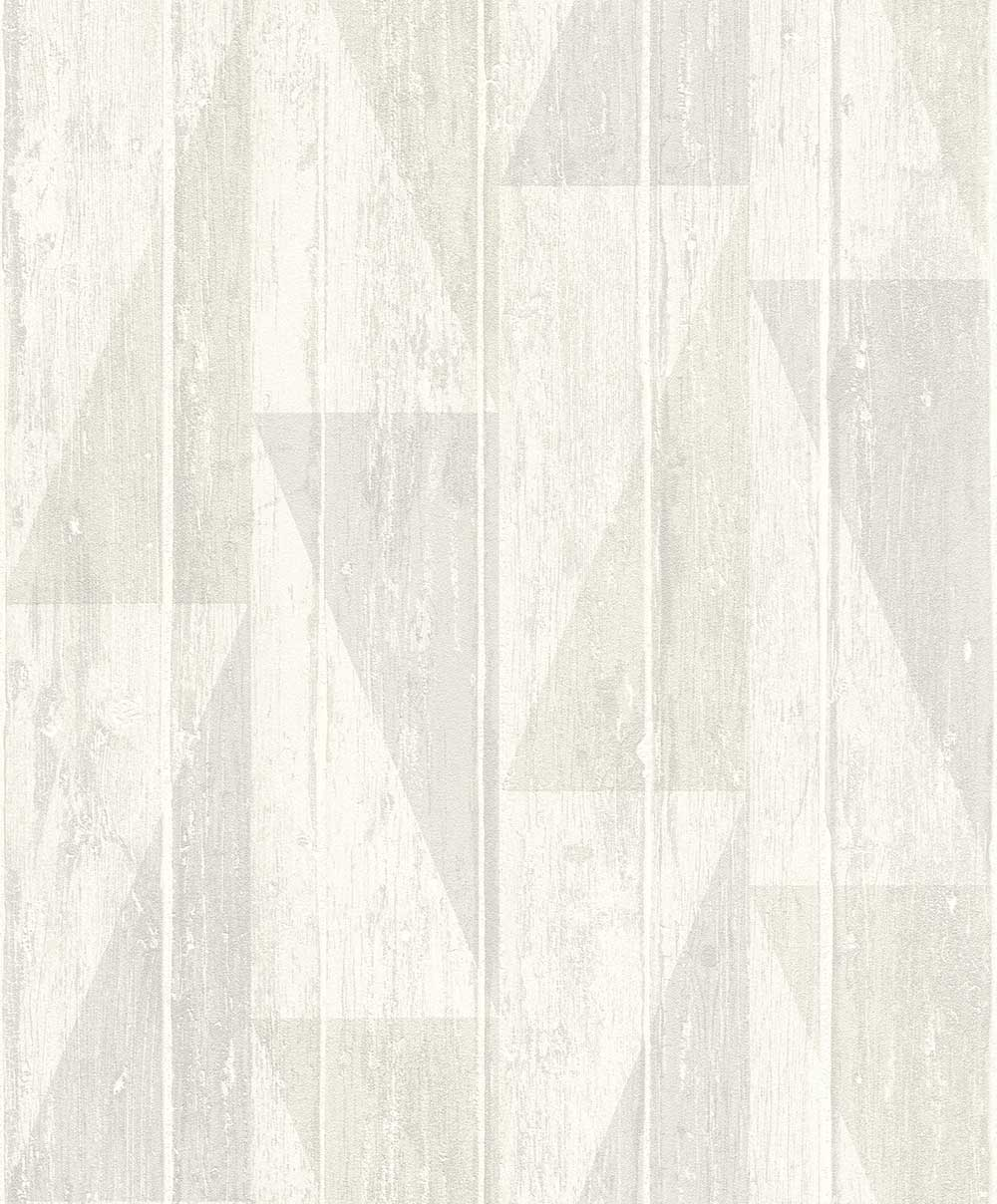 Albany Geo Decking Grey Wallpaper - Product code: 809107