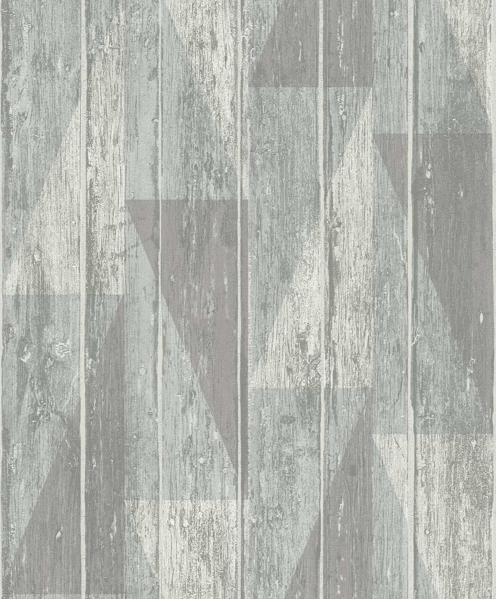 Albany Geo Decking Blue Wallpaper - Product code: 809114