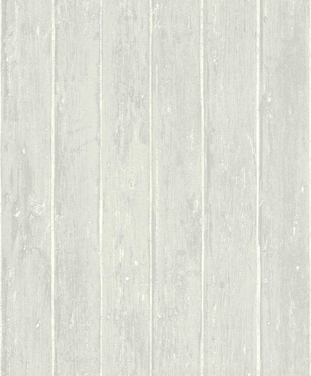 Albany Distressed Decking Silver Grey Wallpaper - Product code: 809237