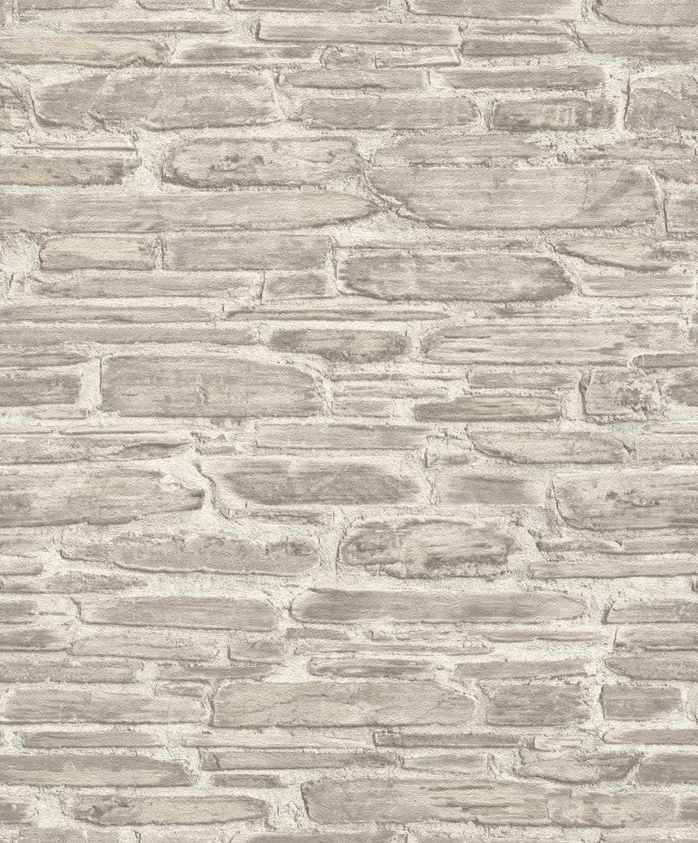 Albany Brick Effect Grey Wallpaper - Product code: 863413