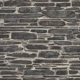 Albany Brick Effect Charcoal Grey Wallpaper - Product code: 863437
