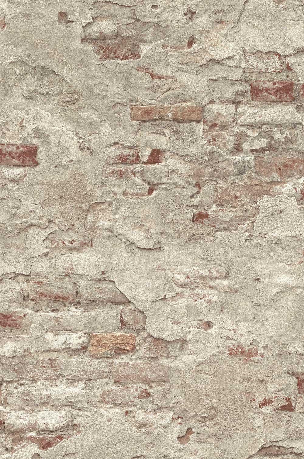 Albany Rustic Wall Grey Wallpaper - Product code: 939323