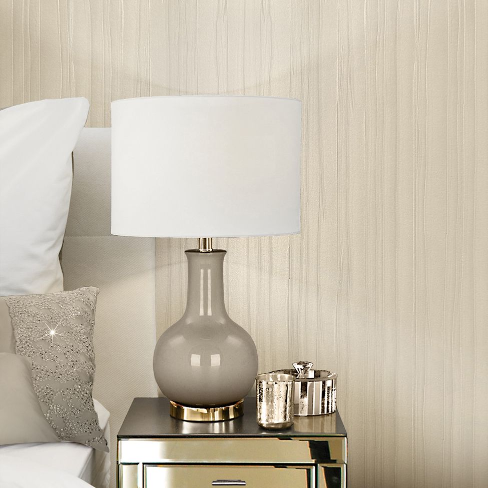 Kylie Minogue  Esther Texture Ivory Wallpaper - Product code: 709010