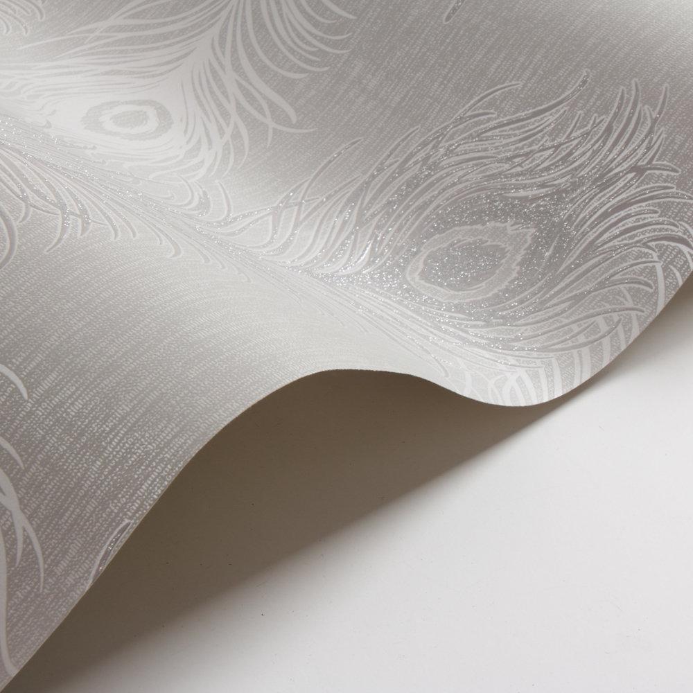 Albany Viola Silver Grey Wallpaper - Product code: 40915