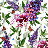 Isabelle Boxall Buddleia Purple Wallpaper - Product code: IB5003